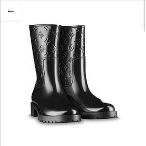 Louis Vuitton Half Rain Boot